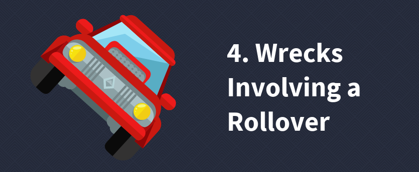 4. Wrecks Involving a Rollover