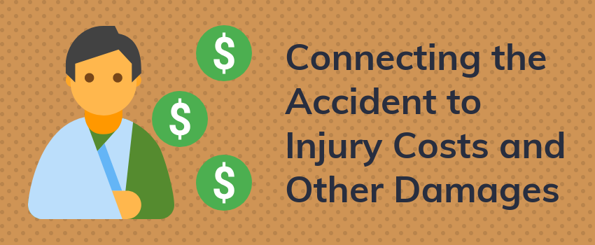 Connecting the Accident to Injury Costs and Other Damages